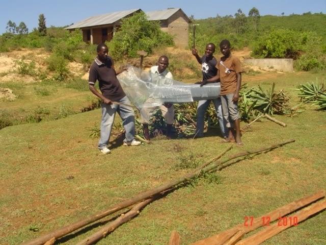 Bekämpfung der Umweltzerstörung in Kadongo